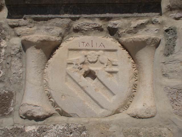 Bodrum Museum Italienisches Wappen.