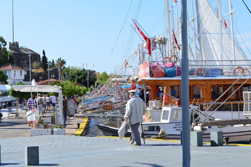 Bodrum Hafen Promenade