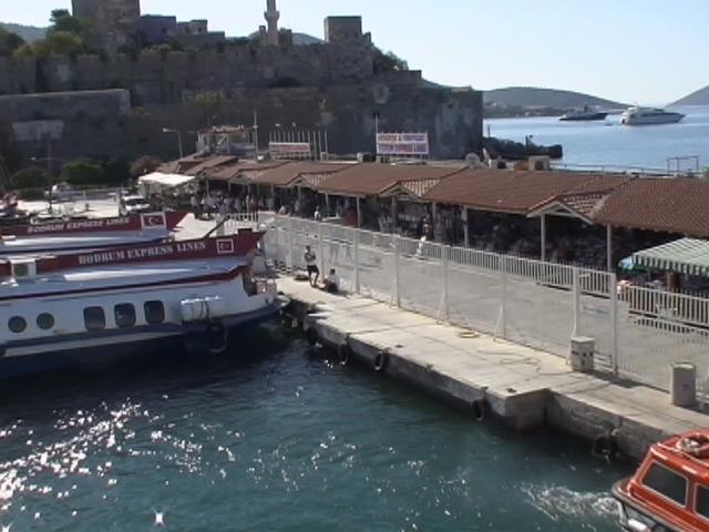 Bodrum Fähren und Zoll