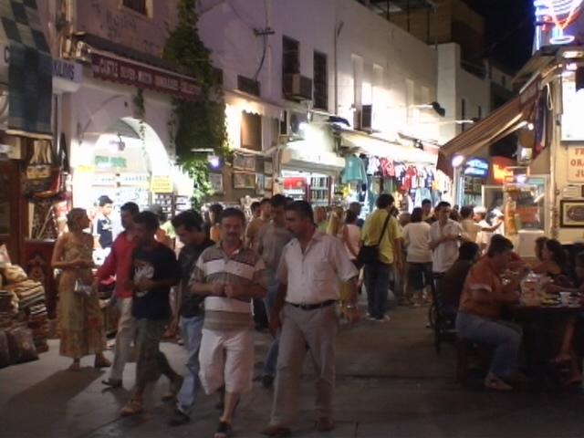 Bodrum bei Nacht 3