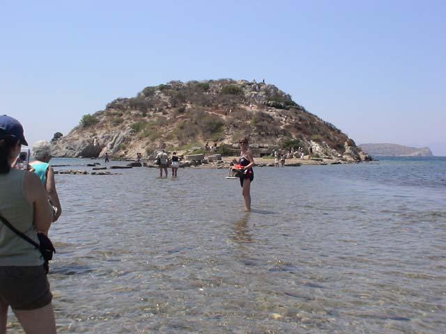 Gümüslük Insel