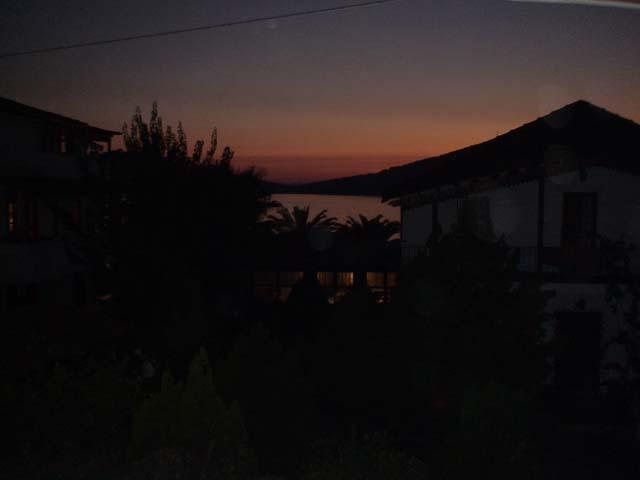 Güvercinlik Sonnenuntergang