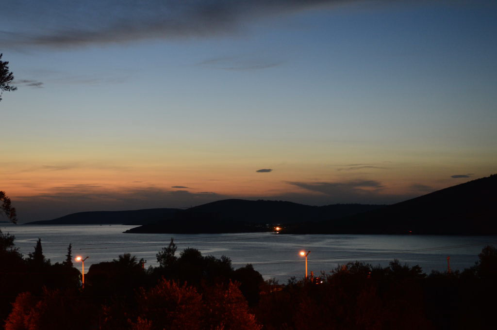 Guevercinlik Sonnenuntergang