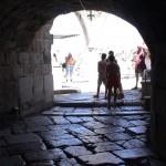 Durchgang auf der Burg in Kos.