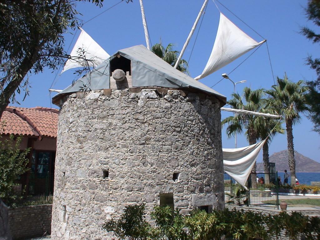 Windmühle in Yalikavak